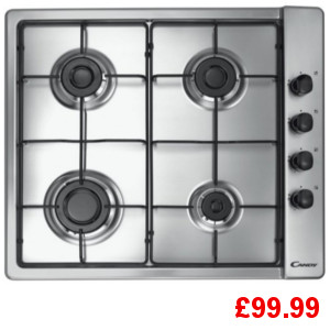 Candy CLG64SPX Gas Hob