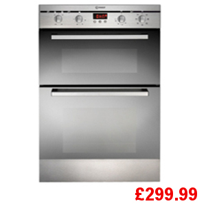 Indesit FIMD23IXS Double Oven