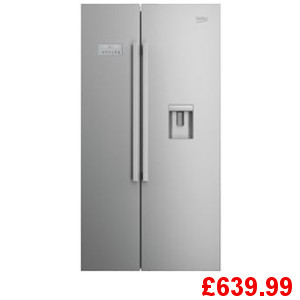Beko ASD241X Fridge Freezer