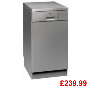 Whirlpool adp451 slim line dishwasher direct discounts cheapest appliances direct yorkshire - Whirlpool discount ...