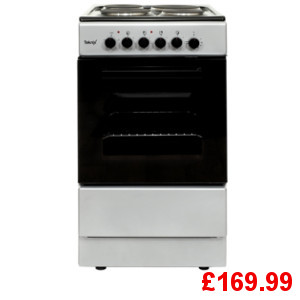 Teknix TK50SES Silver Electric Cooker