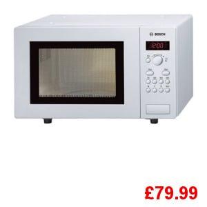 Bosch HMT75M421B White Microwave