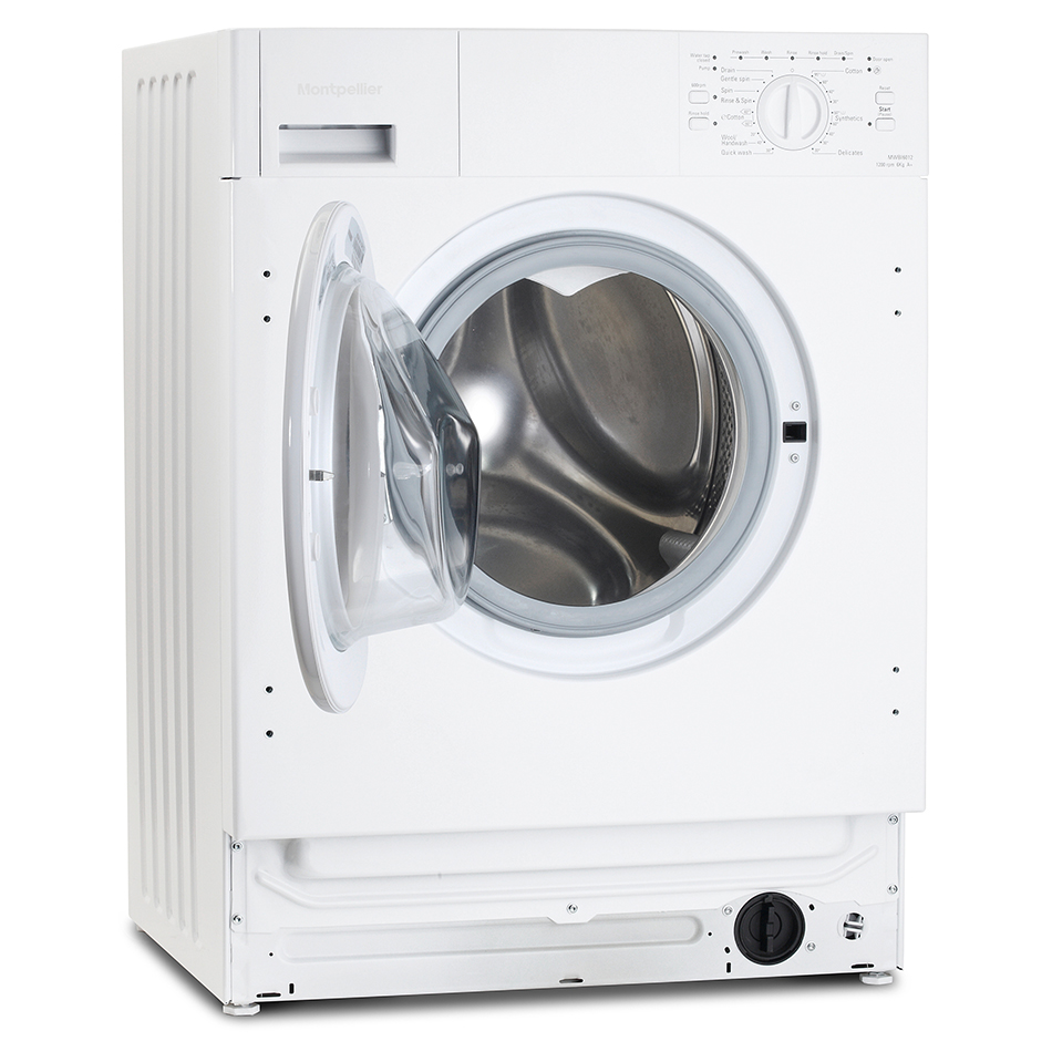 Montpellier Mwbi6012 6kg 1200 Spin Built In Washing