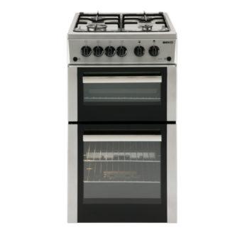 Beko BDG582S Silver 50CM Gas Cooker