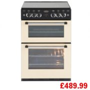 Belling Classic Cream 60cm Gas Cooker