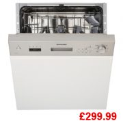 Montpellier MDI650X Semi Integrated Dishwasher