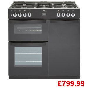 New World 90G Black Range Cooker