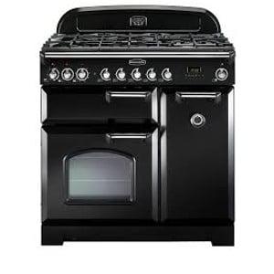 Rangemaster Classic Deluxe 90DF Black Range Cooker
