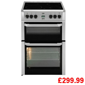 Beko BDVC664S Electric Cooker