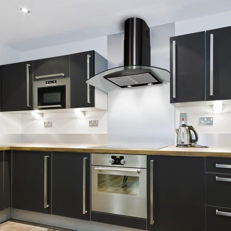 Luxair La 90 Cvd Chimney Hood Direct Discounts Kitchen