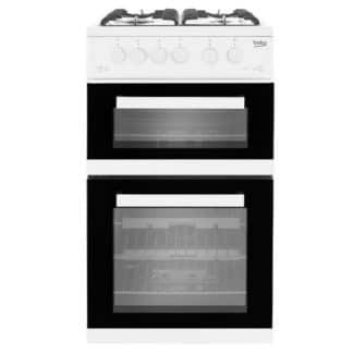 Beko KDVG592W Gas Cooker