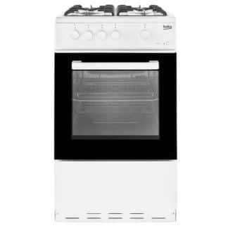 Beko KSG580W Gas Cooker
